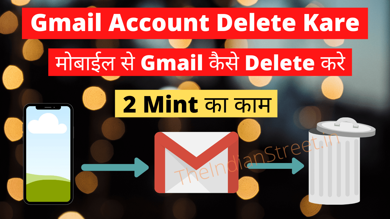 Gmail Account Delete Kare